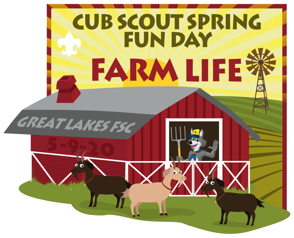 Cub Scout Spring Fun Day 2020