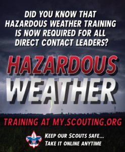 Hazardous Weather Required to be Fully Trained